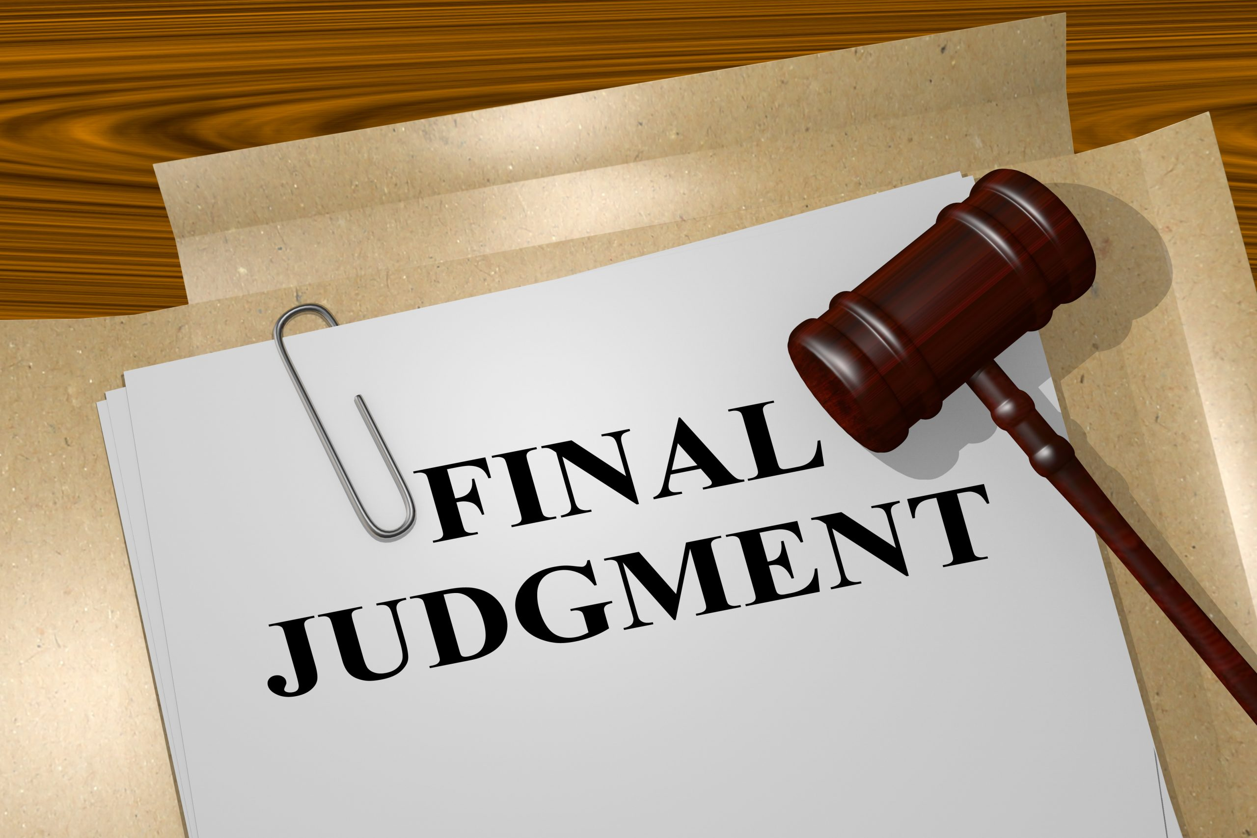 The Effect of a Final Judgment of Eviction